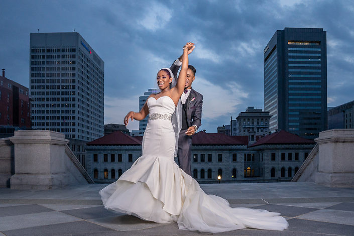 VA State Capitol Wedding Photos
