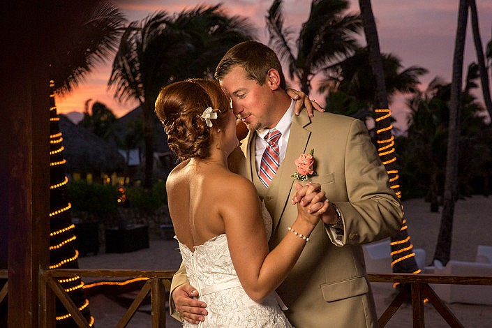 punta cana wedding pictures