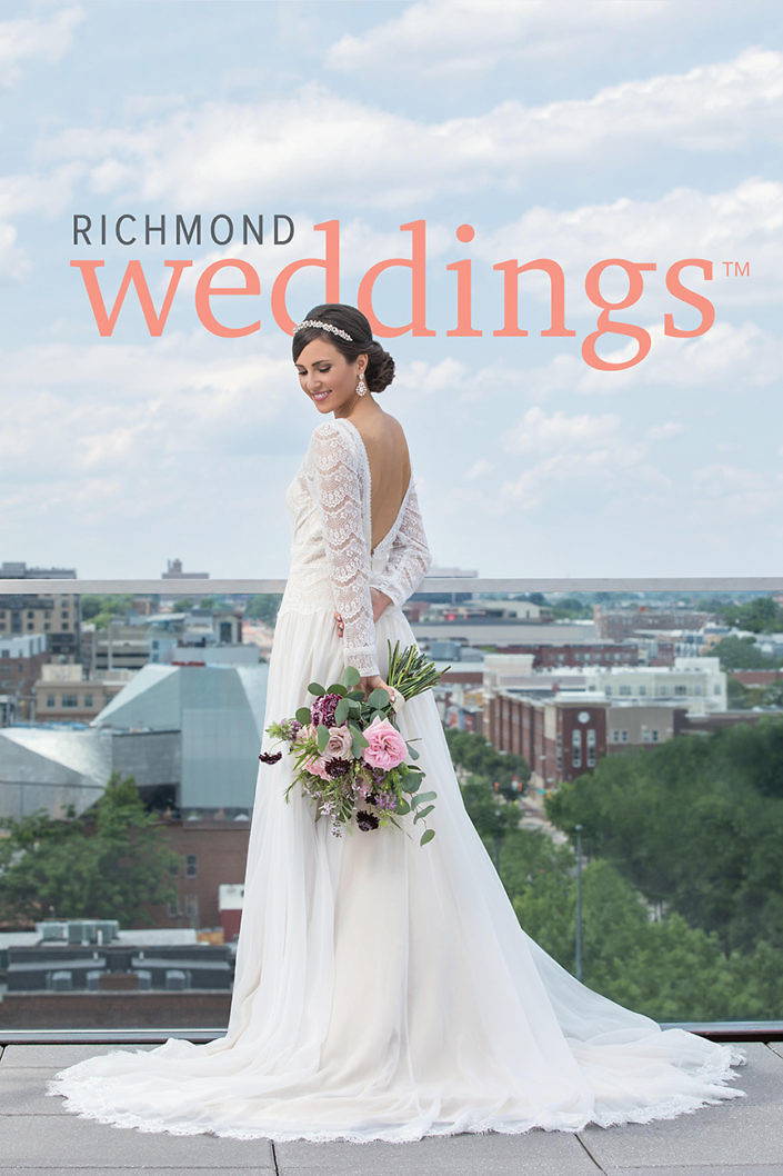 richmond weddings magazine cover